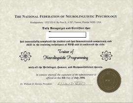 NLP 发证导师证书课程 - NLP课程  催眠治疗   教练   心理资询 - 华美拉博士 色彩生活有限公司
